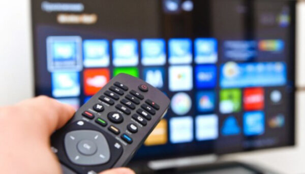Работа ТВ и пульта