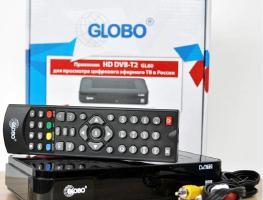 Обзор моделей ТВ-приставки Globo