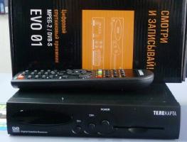 Возможности и настройка ресивера Телекарта EVO-01