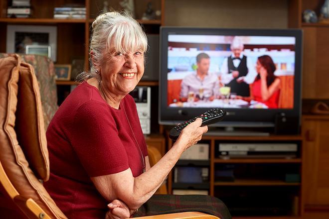 ТВ для пенсионеров