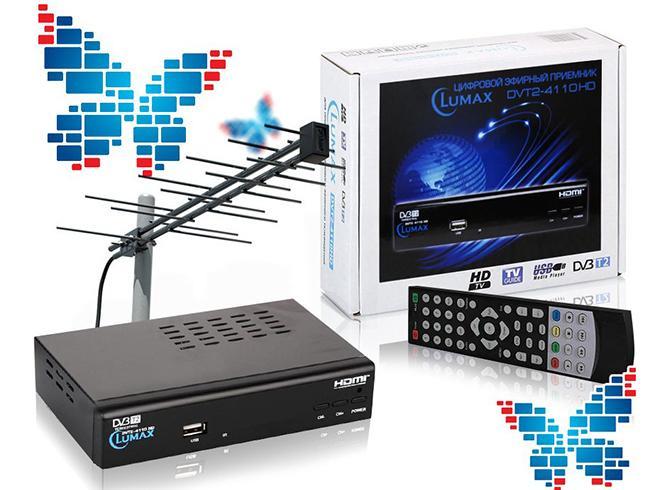 Оборудование для приема цифрового ТВ