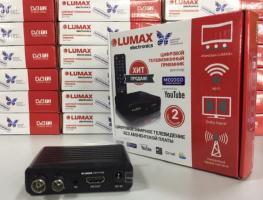 Обзор приставок для цифрового телевидения Lumax