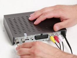 Подключение и настройка цифровой ТВ-приставки