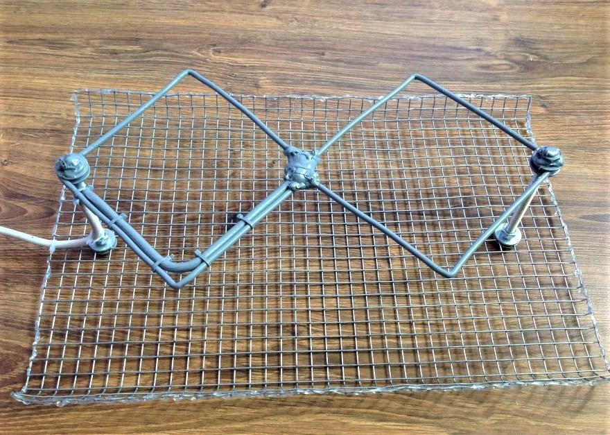 Дефлектор - стальная сетка