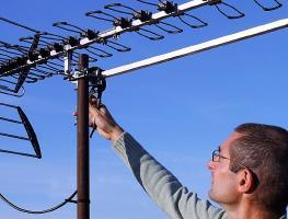 Как установить и направить антенну для приема цифрового ТВ