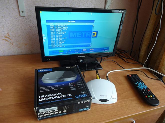 ТВ с цифровой приставкой
