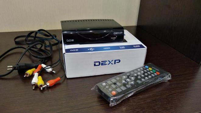 Цифровые приставки DEXP