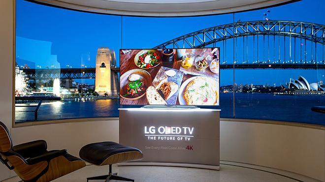 OLED ТВ с разрешением 4K