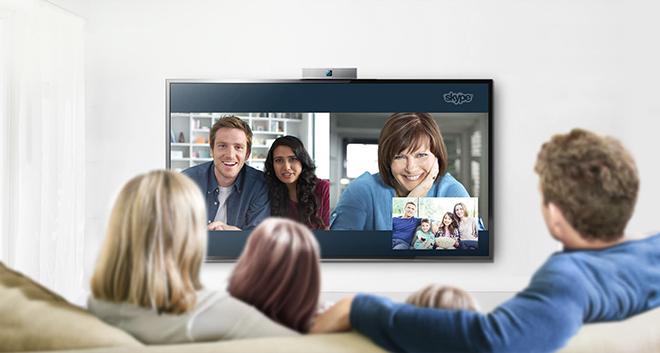 Skype на СМАРТ-телевизор