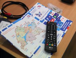 Карта вещания цифрового эфирного телевидения