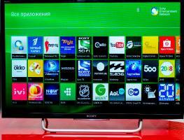 Инструкция по настройке СМАРТ-ТВ на телевизорах Sony