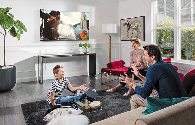 Телевизор для большой комнаты
