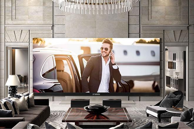 Огромный телевизор