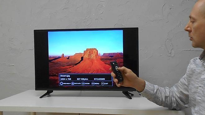 Обновление по телевизора