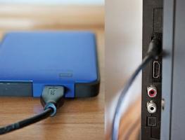 Решение проблем при подключении жесткого диска к телевизору