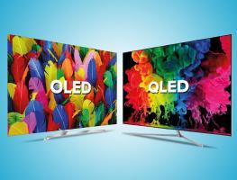 Битва технологий: OLED против QLED