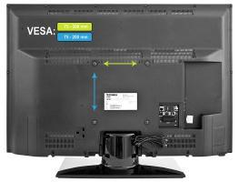 Размер VESA в ТВ: как подобрать крепление