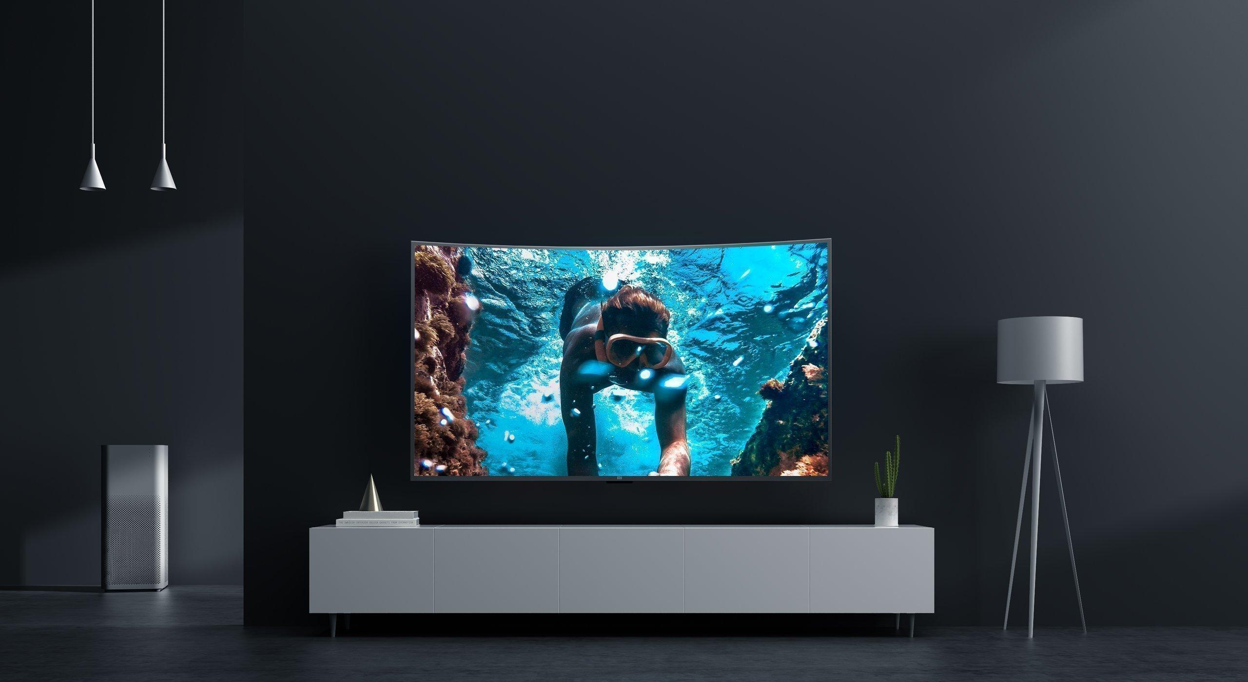 Xiaomi Mi TV 4S 55 Сurved