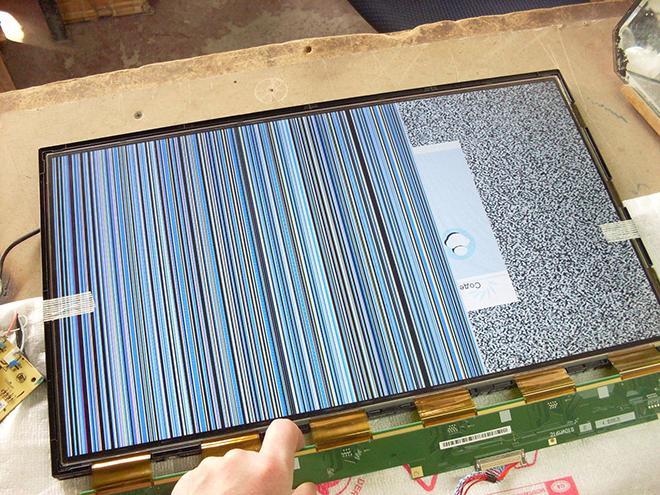 Полосы на экране ТВ