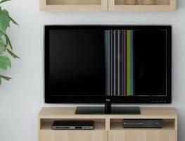 Причины появления различных видов полос на экране телевизора
