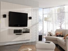 Выбор оптимальной высоты телевизора от пола