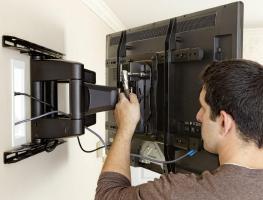 Монтаж телевизора на стену своими руками