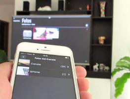 Как синхронизировать iPhone с телевизором Samsung