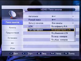 Функция LCN в телевизоре: назначение и особенности