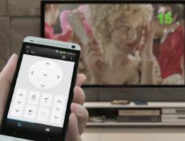 Используем iPhone как пульт ДУ для телевизора
