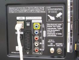 Как подключить телевизор к интернету через кабель