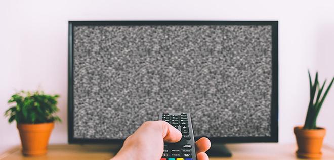 Шум и рябь на экране ТВ