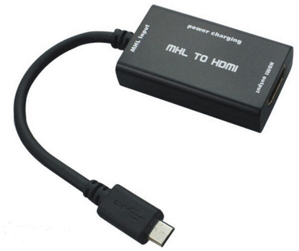Переходник MHL – micro USB/Type-C