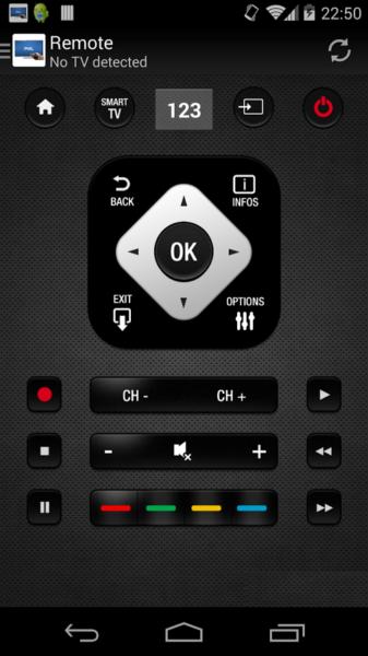 Philips TV Remote