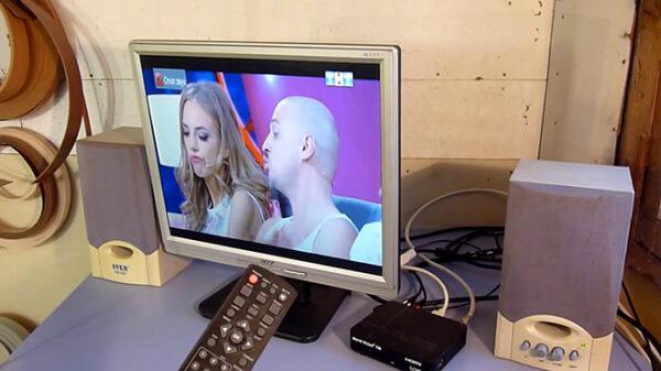 Монитор вместо ТВ