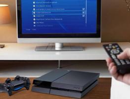 Подключение Sony Playstation 4 к телевизору