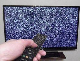 Экран телевизора не показывает при наличии звука: что делать