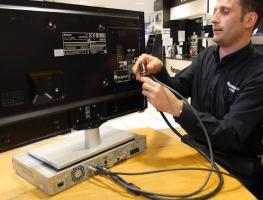 Как подключить DVD к телевизору через различные интерфейсы