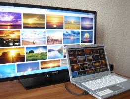 Как организовать подключение компьютера к телевизору