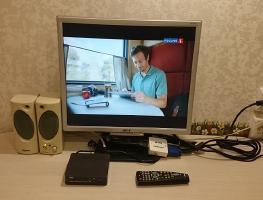 Переделка монитора от ПК в телевизор