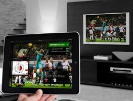 Подключение планшета к телевизору: все способы