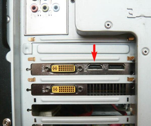 HDMI на видеокарте ПК