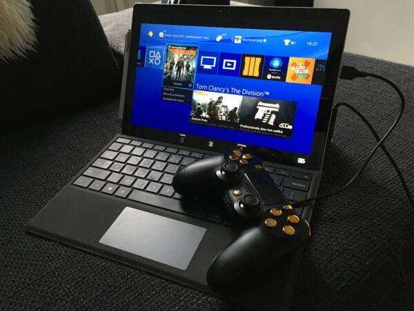 Подключение PS4 к ноутбуку