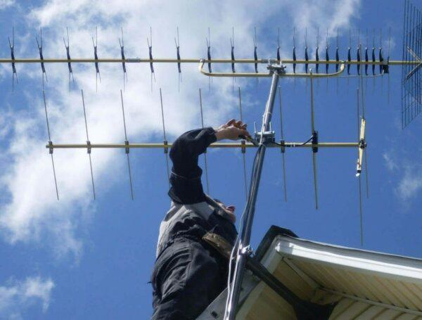 Проверка антенны