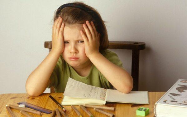ребенку тяжело учиться